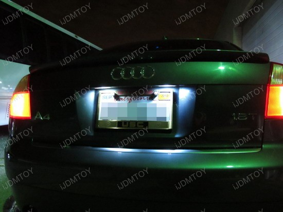 Audi - A4 - LED - License - Plate - Lights - 3